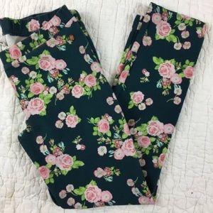 435 Matilda Jane Hello Lovely Leggings Floral 14